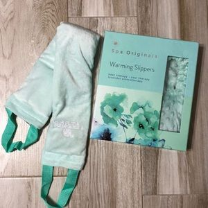 Spa Originals Warming Slippers